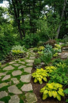 Stunning landscape pathways ideas for your garden 39