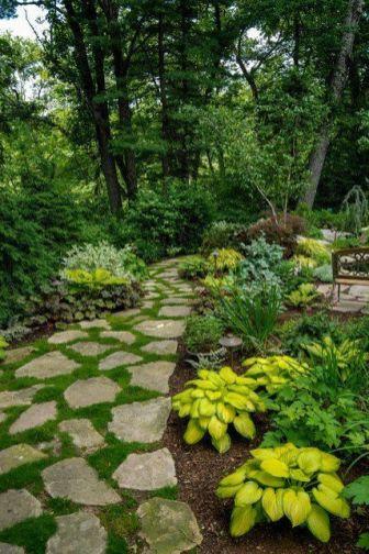Stunning landscape pathways ideas for your garden 39