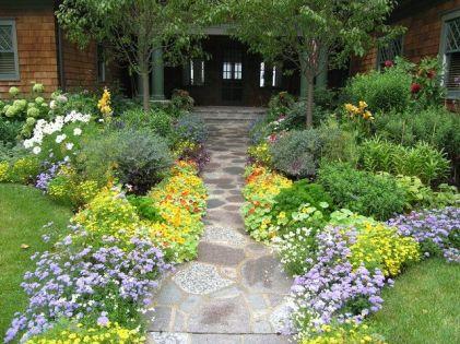 Stunning landscape pathways ideas for your garden 40