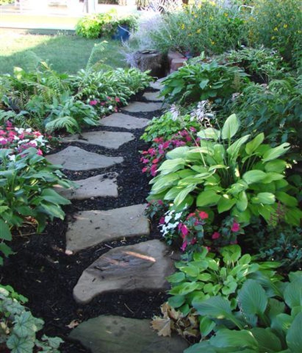 Stunning landscape pathways ideas for your garden 46