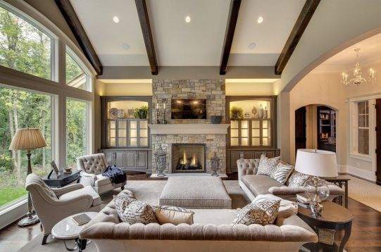 Wonderful traditional living room design ideas 37