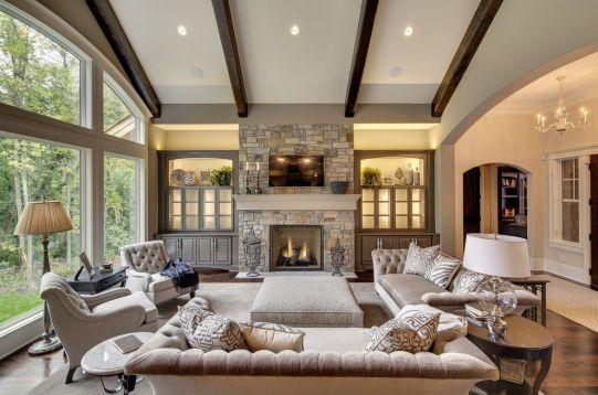Wonderful traditional living room design ideas 37