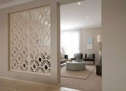 Astonishing partition design ideas for living room 10