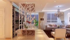 Astonishing partition design ideas for living room 16