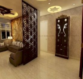 Astonishing partition design ideas for living room 21