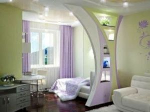 Astonishing partition design ideas for living room 48