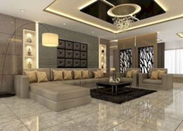 Astonishing partition design ideas for living room 51
