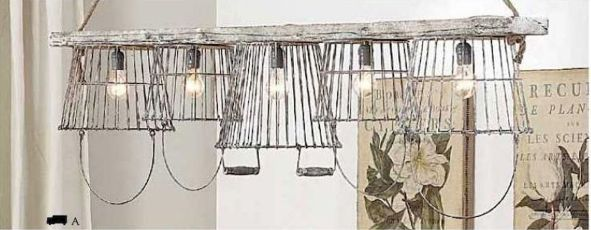 Best ideas to reuse old wire baskets 01