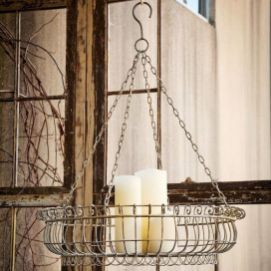 Best ideas to reuse old wire baskets 03