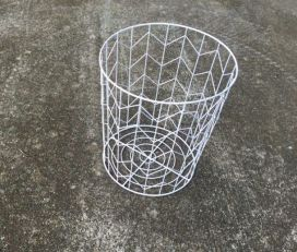 Best ideas to reuse old wire baskets 08