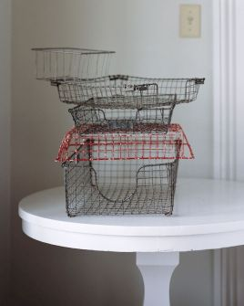Best ideas to reuse old wire baskets 23