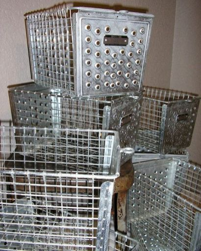 Best ideas to reuse old wire baskets 32