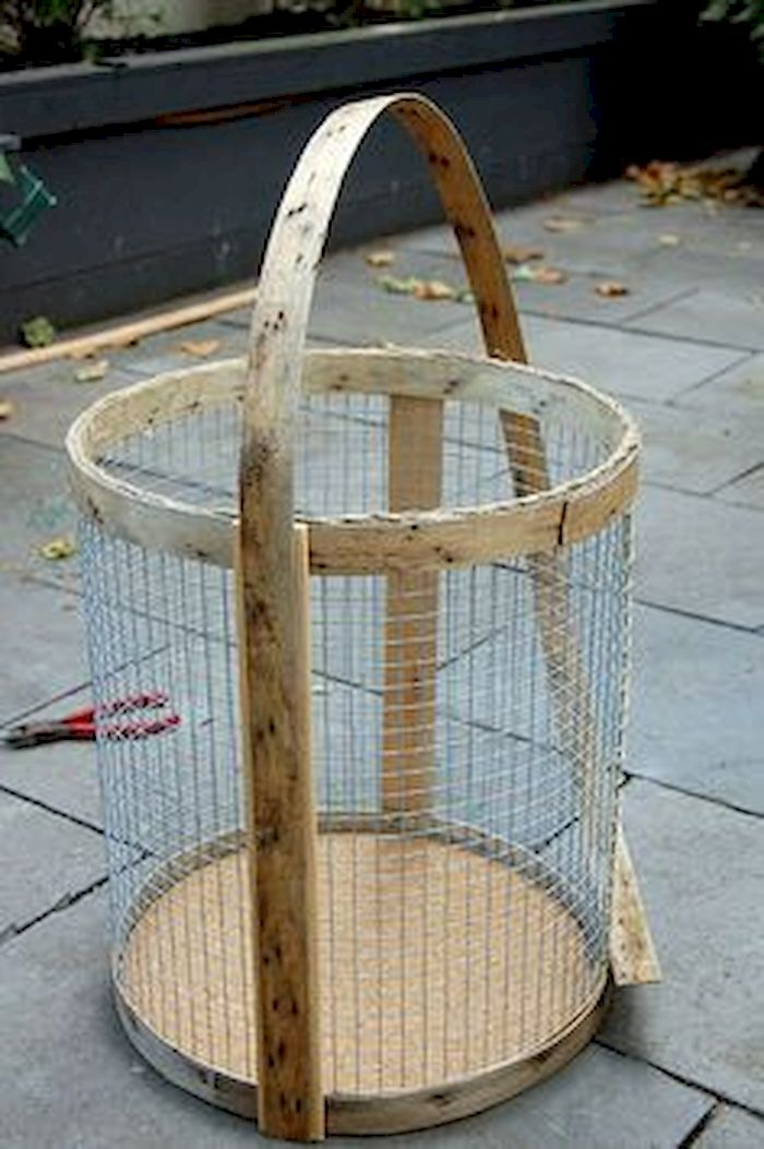 Best ideas to reuse old wire baskets 46