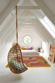 Charming bedroom design ideas in the attic 07