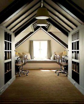 Charming bedroom design ideas in the attic 09