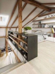 Charming bedroom design ideas in the attic 11