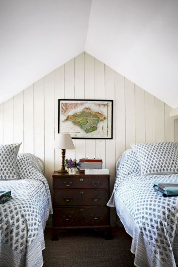 Charming bedroom design ideas in the attic 18