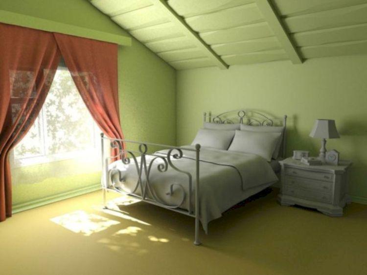 Charming bedroom design ideas in the attic 27