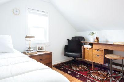 Charming bedroom design ideas in the attic 42