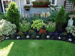 Charming flower beds ideas for shady yards 02
