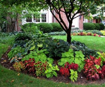 Charming flower beds ideas for shady yards 17