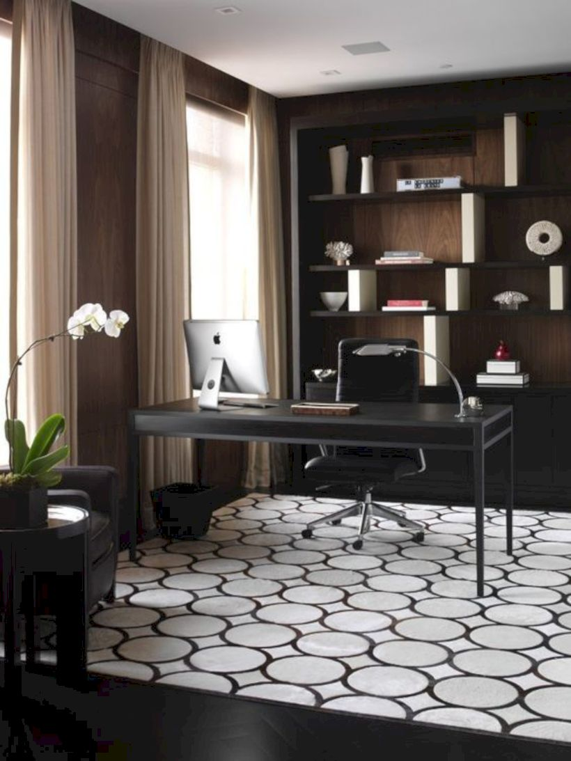 Classy home office designs ideas 03