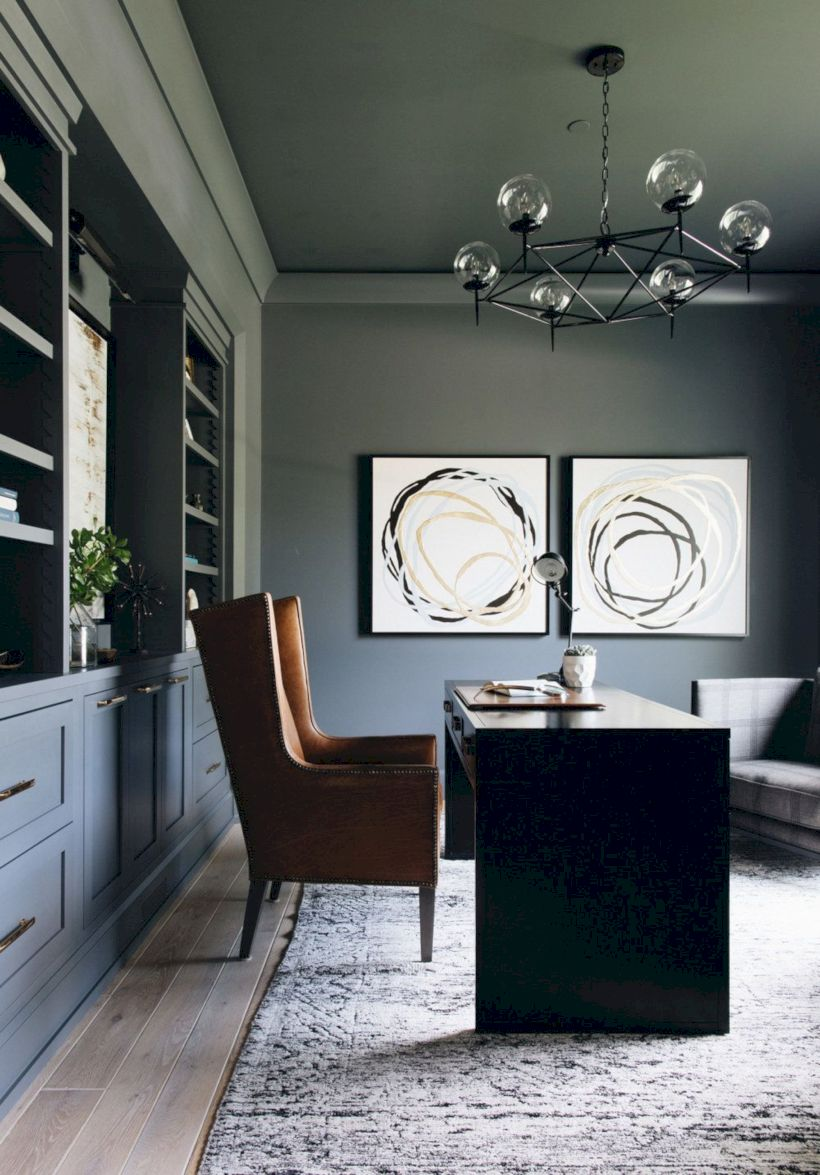 Classy home office designs ideas 05