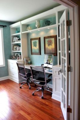Classy home office designs ideas 07