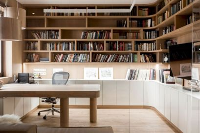 Classy home office designs ideas 13