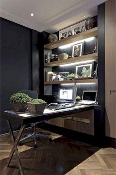 Classy home office designs ideas 16