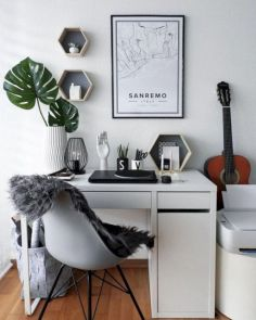 Classy home office designs ideas 24