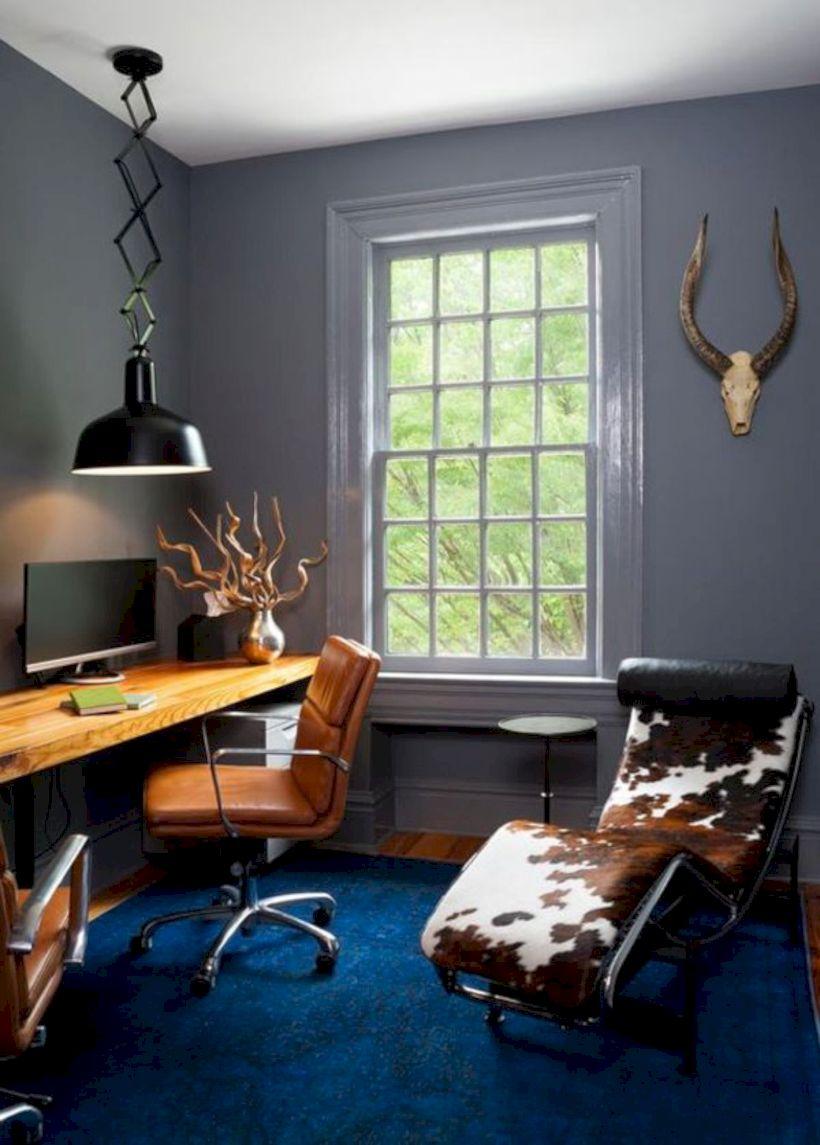 Classy home office designs ideas 33
