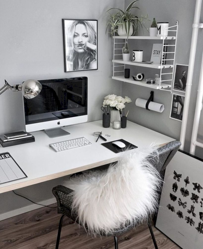 Classy home office designs ideas 35