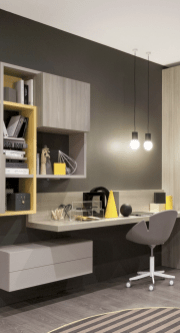 Classy home office designs ideas 40