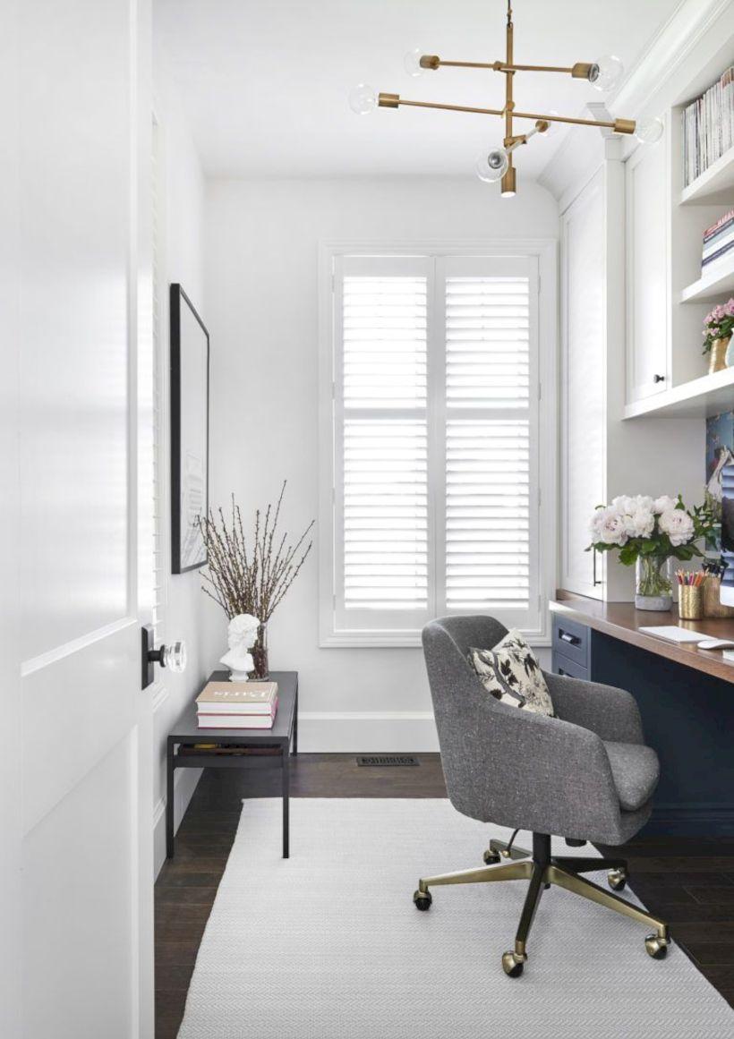 Classy home office designs ideas 46