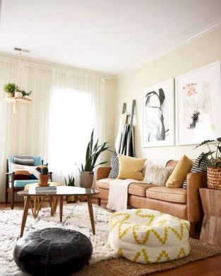 Cool living room designs ideas in boho style02