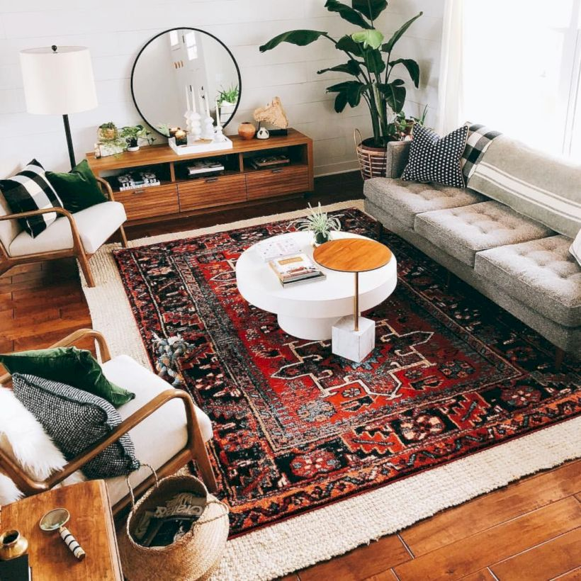 Cool living room designs ideas in boho style12