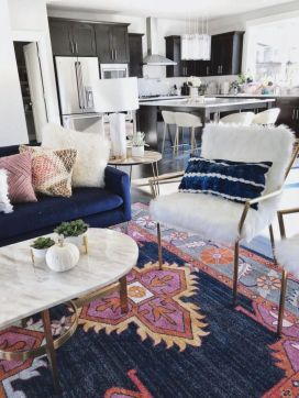 Cool living room designs ideas in boho style30