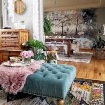 Cool living room designs ideas in boho style31