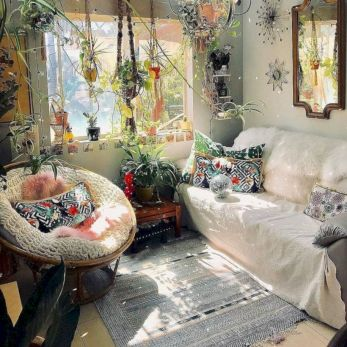 Cool living room designs ideas in boho style36
