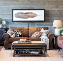 Cool living room designs ideas in boho style43