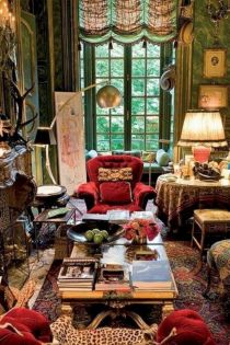 Cool living room designs ideas in boho style53