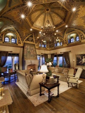 Fabulous statement ceiling ideas for home 26