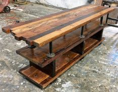 Graceful pallet furniture ideas 04
