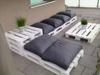Graceful pallet furniture ideas 16