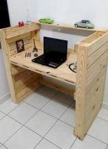 Graceful pallet furniture ideas 23