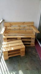 Graceful pallet furniture ideas 24