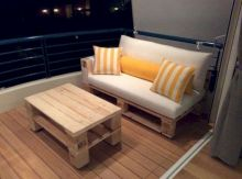 Graceful pallet furniture ideas 29