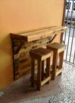 Graceful pallet furniture ideas 36