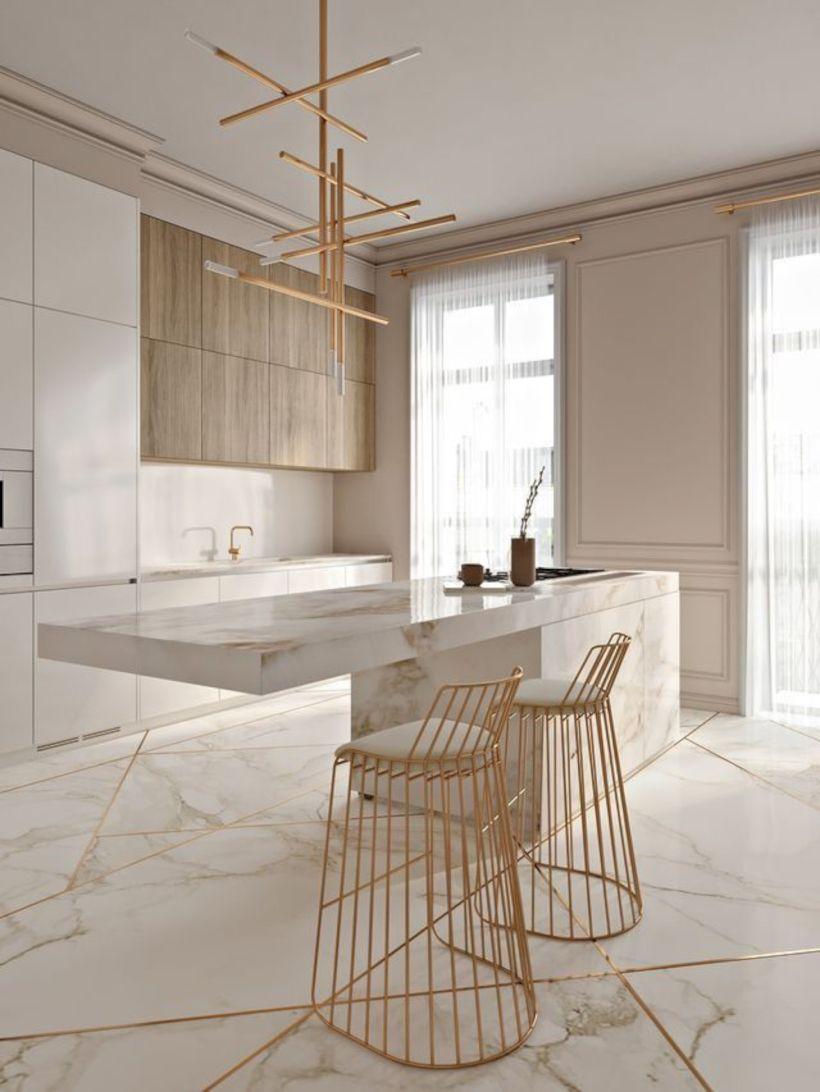 Lovely dining room tiles design ideas 05